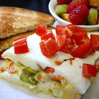 Easy Egg White Omelet.
