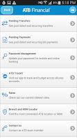 Screenshot of ATB Mobile Banking