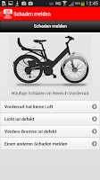 Screenshot of Call a Bike