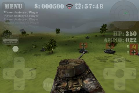 Tank Fury 3D - screenshot