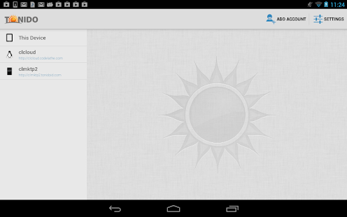 Tonido File Access Share Sync - screenshot thumbnail