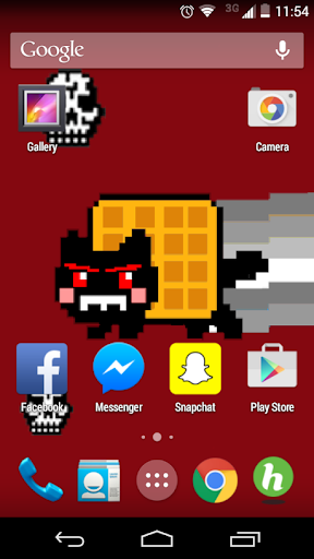 Nyan Death Live Wallpaper