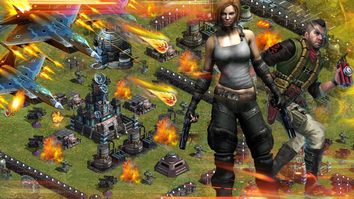 พายุสีแดง--MMO วางแผนการรบ - screenshot