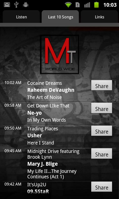 MAJOR TRENDZ RADIO - screenshot
