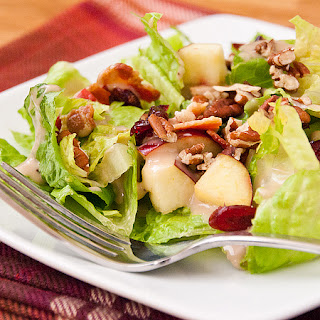 Autumn Apple Salad.