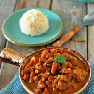 Kidney Bean Curry (Vegan, Gluten-free).