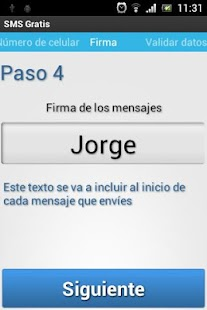 SMS Gratis- screenshot thumbnail