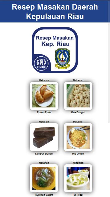 resep masakan kepulauan riau android apps on google play