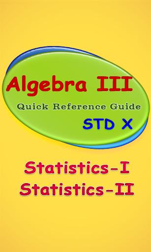 Algebra-III
