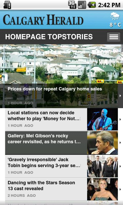 The Calgary Herald - screenshot