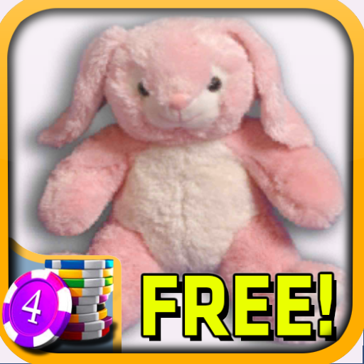 3D Pink Bunny Slots - Free LOGO-APP點子