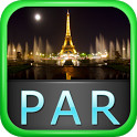 Paris Offline Map Travel Guide icon