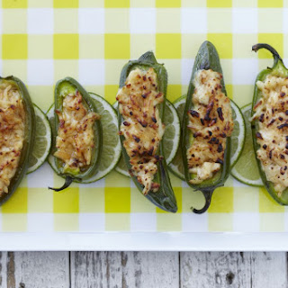 Grilled Cheese Stuffed Jalapenos