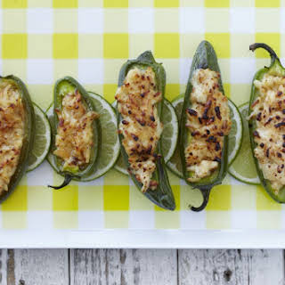 Grilled Cheese Stuffed Jalapenos.
