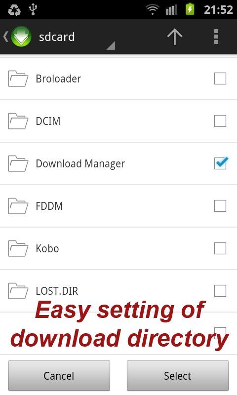 Torrent Download Manager (TDM) - screenshot