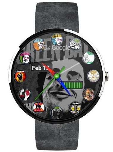 R1 Green Day - Wear Watch Face