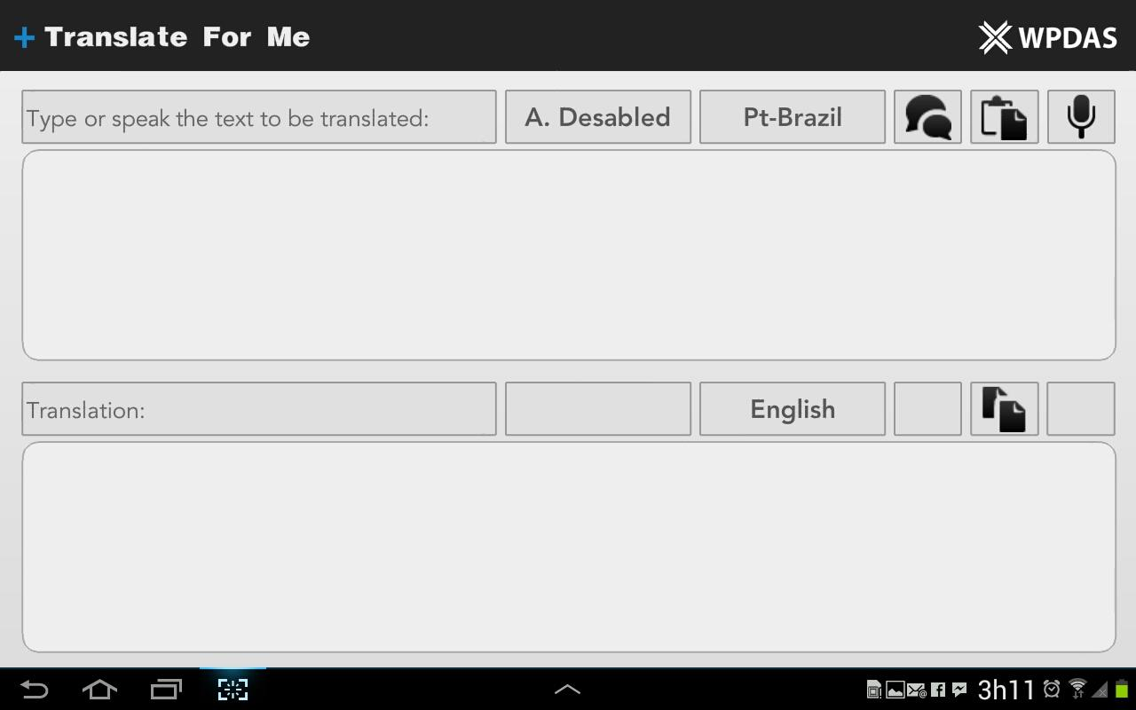 Translate For Me - screenshot