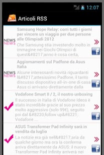 Custom RSS Reader - screenshot thumbnail
