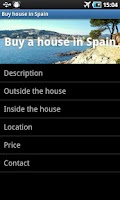 Screenshot of Buy house in Spain
