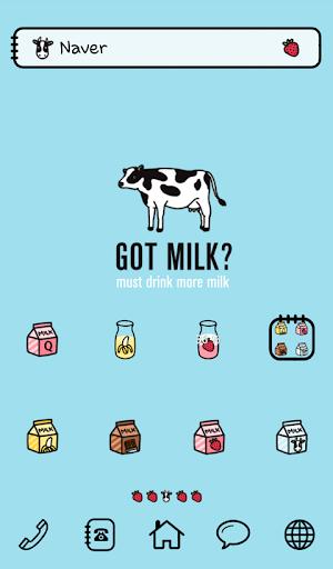 got milk 도돌런처 테마