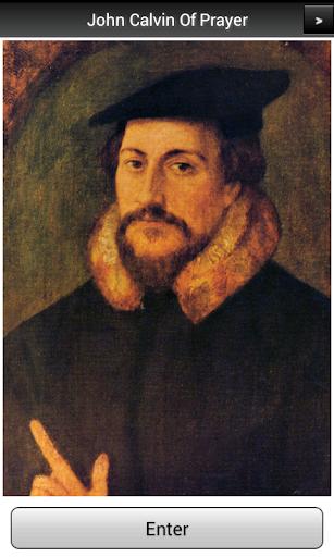 John Calvin Of Prayer PRO