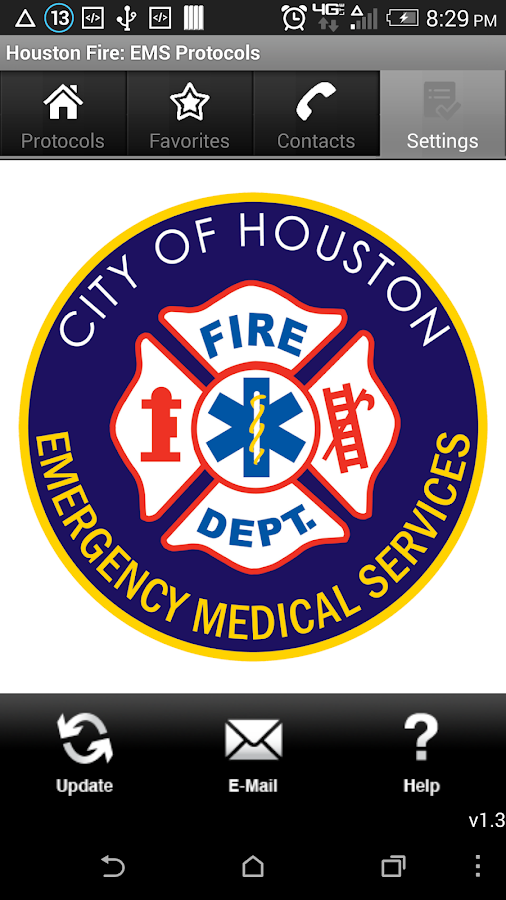 Houston Fire: EMS Protocols- screenshot