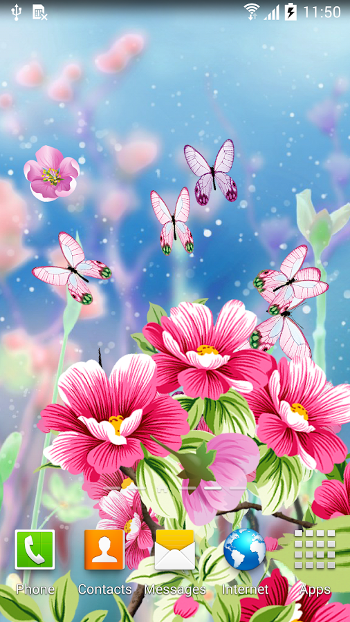 Flowers wallpaper android apps on google play flowers wallpaper screenshot voltagebd Gallery