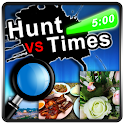 Hunt VS Time logo