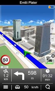 Navigation MapaMap Poland - screenshot thumbnail