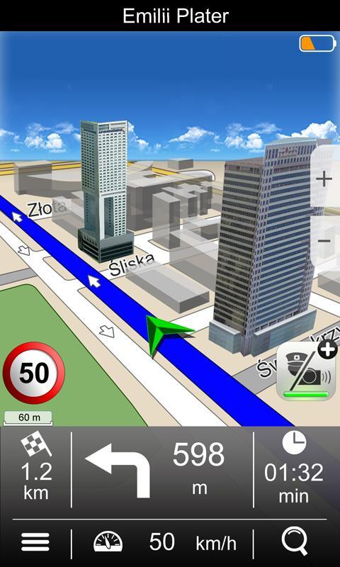 Navigation MapaMap Poland - screenshot