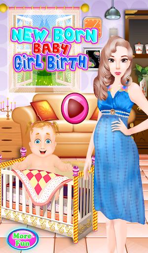 新生児出産赤ちゃんのゲーム