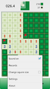Blind-Droid Minesweeper - screenshot thumbnail