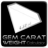 Gem Carat Weight Calculator