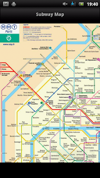 Vienna Subway Map