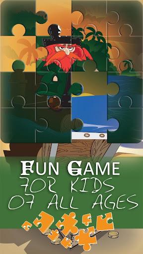 海賊 パズルゲーム のための 子供