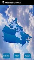 Screenshot of Meteo Radar CANADA