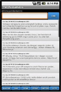 TMC Polda Metro Screenshot 10