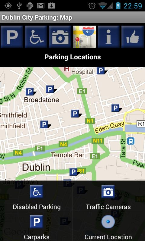 Dublin City Parking- screenshot