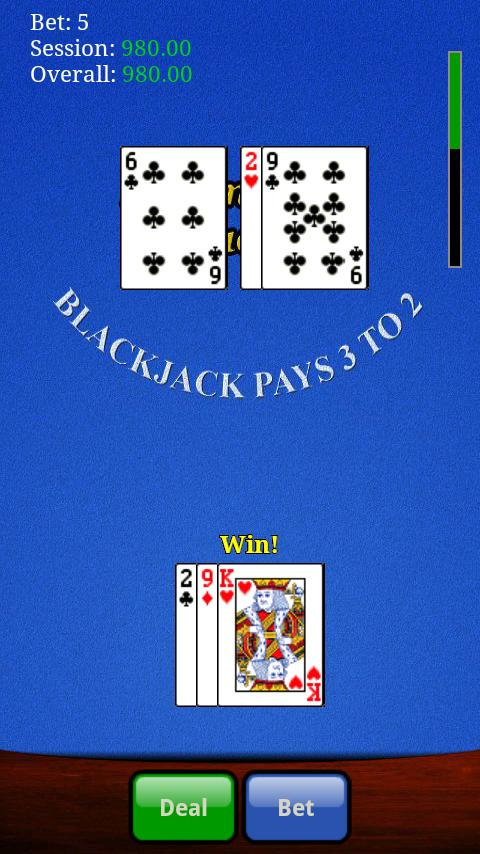 Advantage Blackjack - screenshot