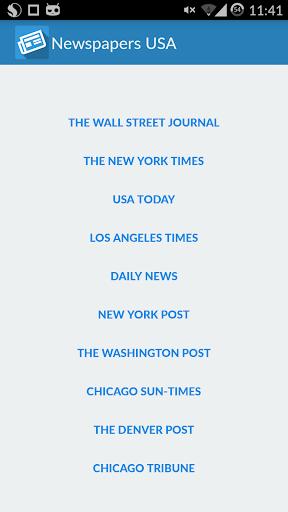Newspapers USA free
