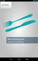 Screenshot of Menu@Siemens