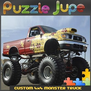 Custom 4×4 Monster Truck for PC and MAC