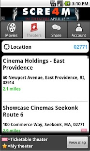 MovieTickets.com - screenshot thumbnail