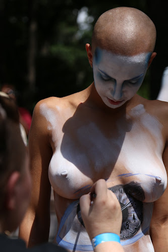 Body Art by VAM Photography - People Street & Candids ( nude, art, places, nyc, artist, person, people, tattoo )