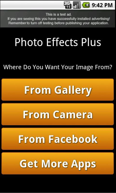 Photo Effects- screenshot