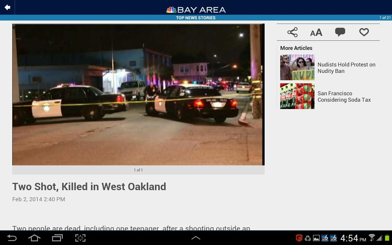 NBC Bay Area - screenshot