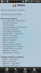 Movie Collection + Inventory - screenshot thumbnail