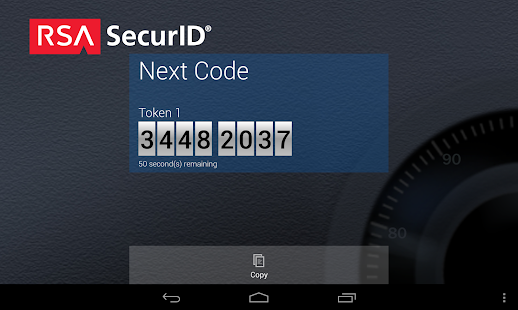 RSA SecurID Software Token - screenshot thumbnail