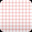 cute pink plaid wallpaper86 icon