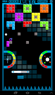 ChromaBurst Brick Breaker Free - screenshot thumbnail